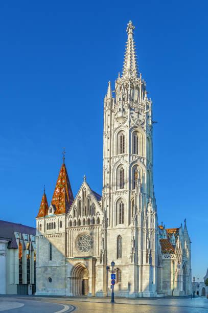 マティアス教会,ブダペスト,ハンガリー - マーチャーシュ教会 ストックフォトと画像