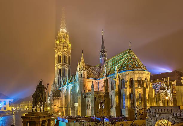 マーチャーシュ教会、ブダペスト - マーチャーシュ教会 ストックフォトと画像