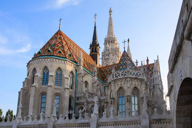 ブダペストのマティアス教会, ハンガリー - マーチャーシュ教会 ストックフォトと画像