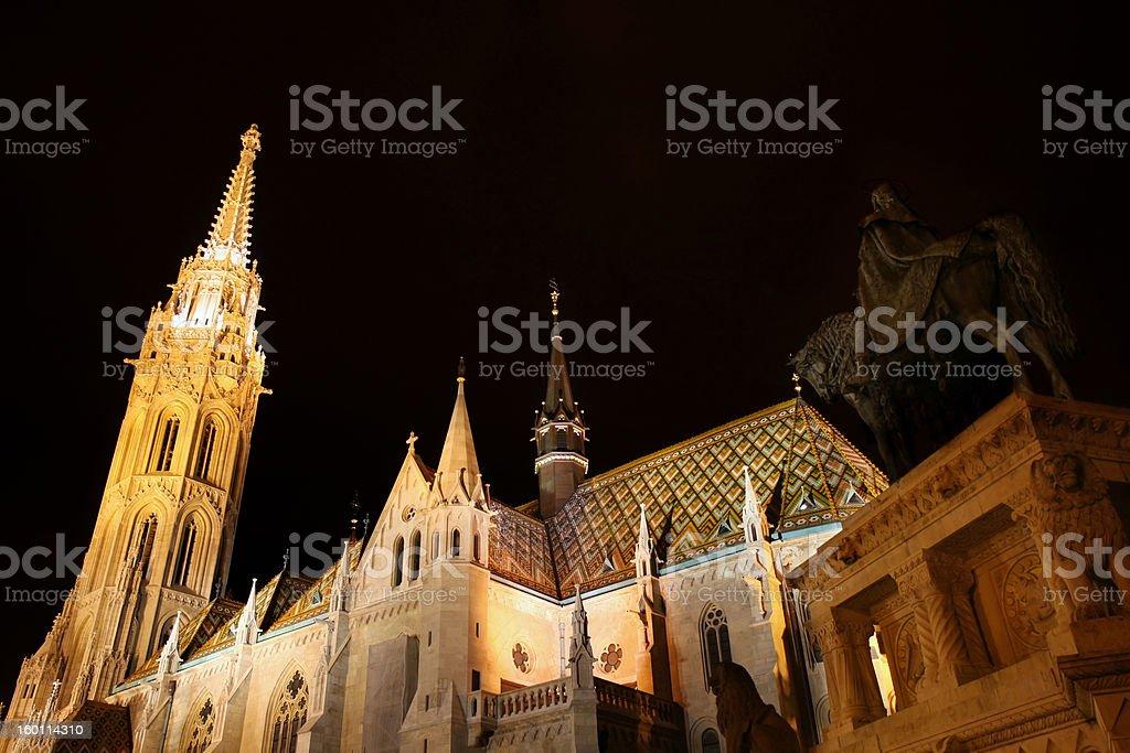 Matthias church in Budapest, Hungary royalty-free stock photo