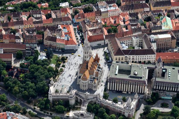 マーチャーシュ教会のブダペスト - マーチャーシュ教会 ストックフォトと画像