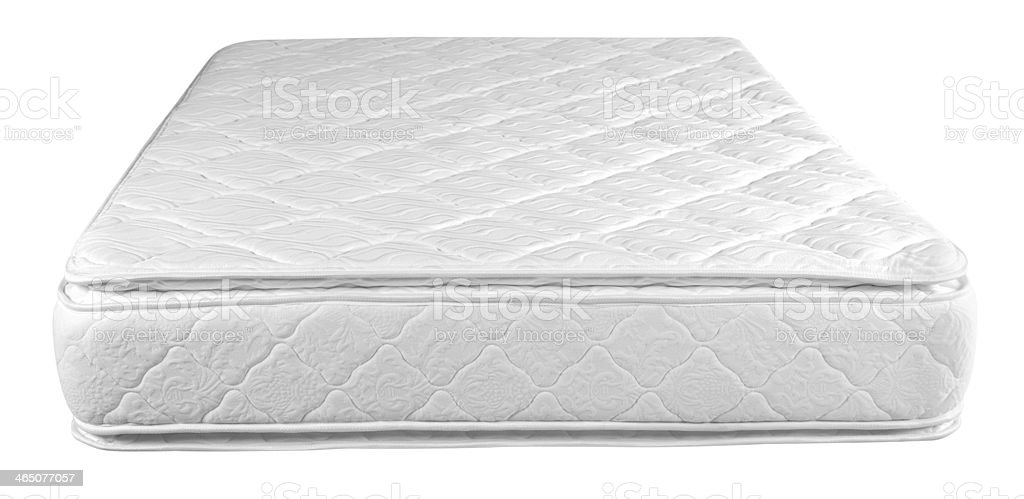 Mattress. Clipping path, series see more.... stock photo