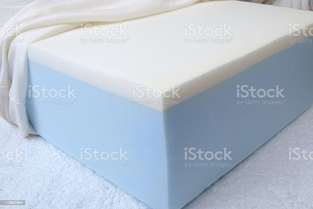 Mattress Foam, sponge royalty-free stock photo