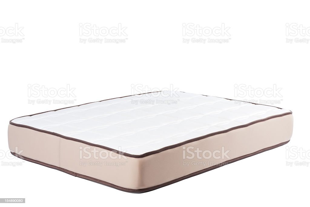 Mattress isolated. royalty-free stock photo