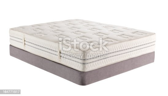 Mattress isolated on white background-clipping path