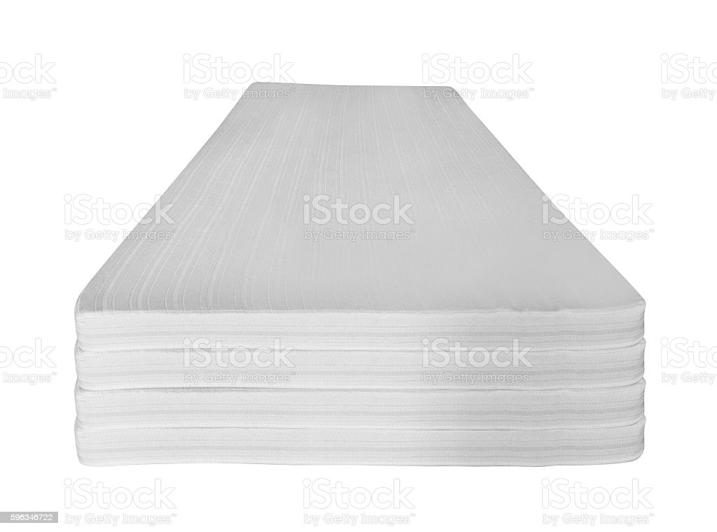 Mattress that supported you to sleep well all night royalty-free stock photo
