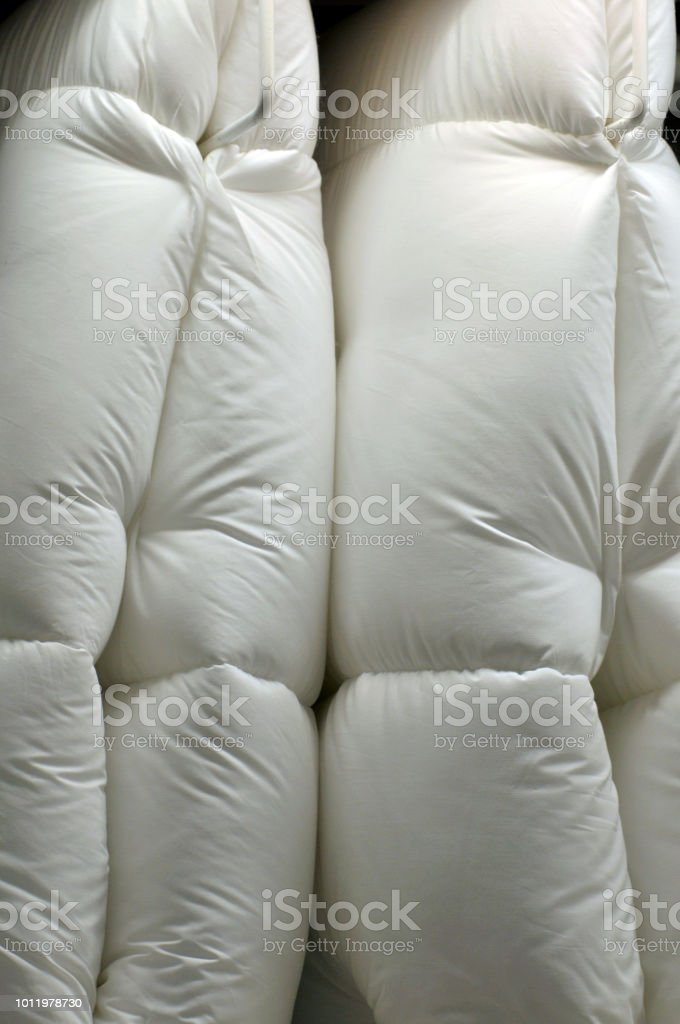 Mattress with Duvet in the store