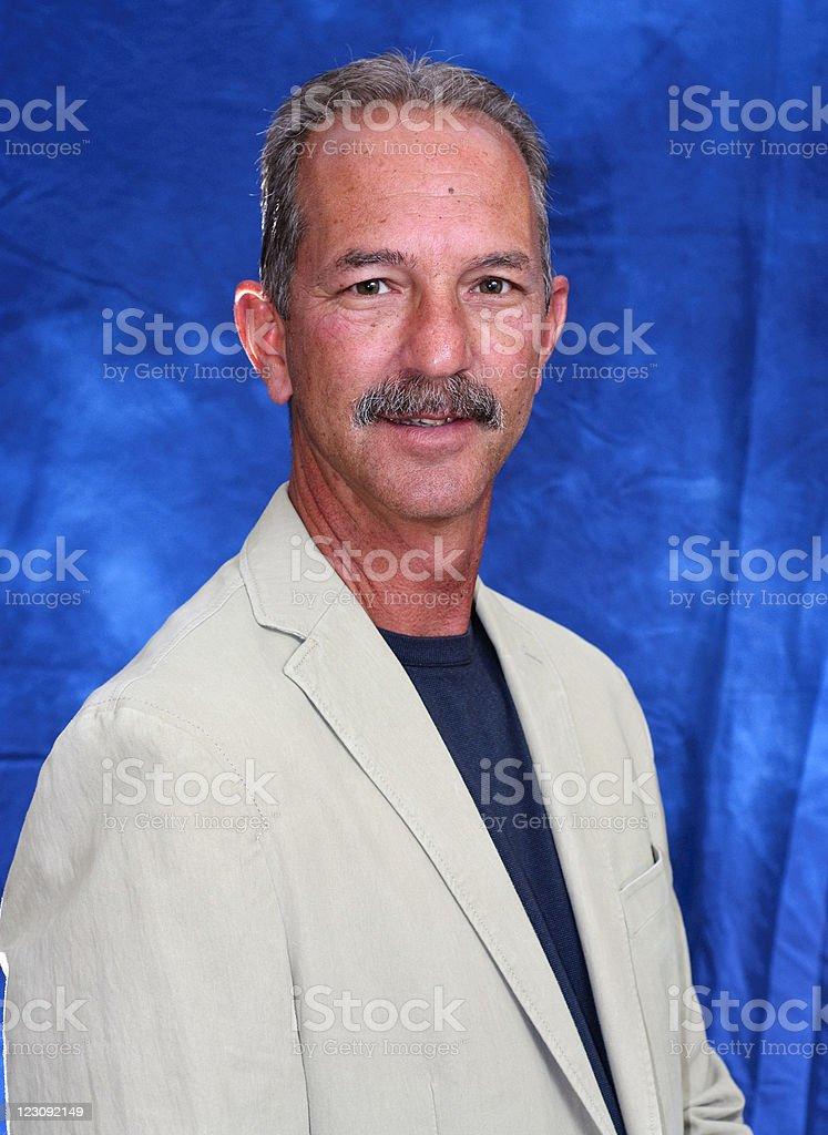 Mature 50 year old man stok fotoğrafı