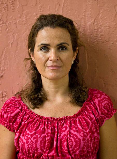 Mature Adult Woman stock photo