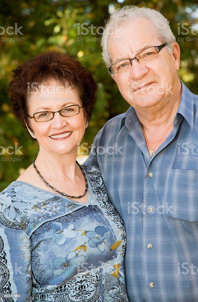 Reife Erwachsene Lizenzfreies stock-foto