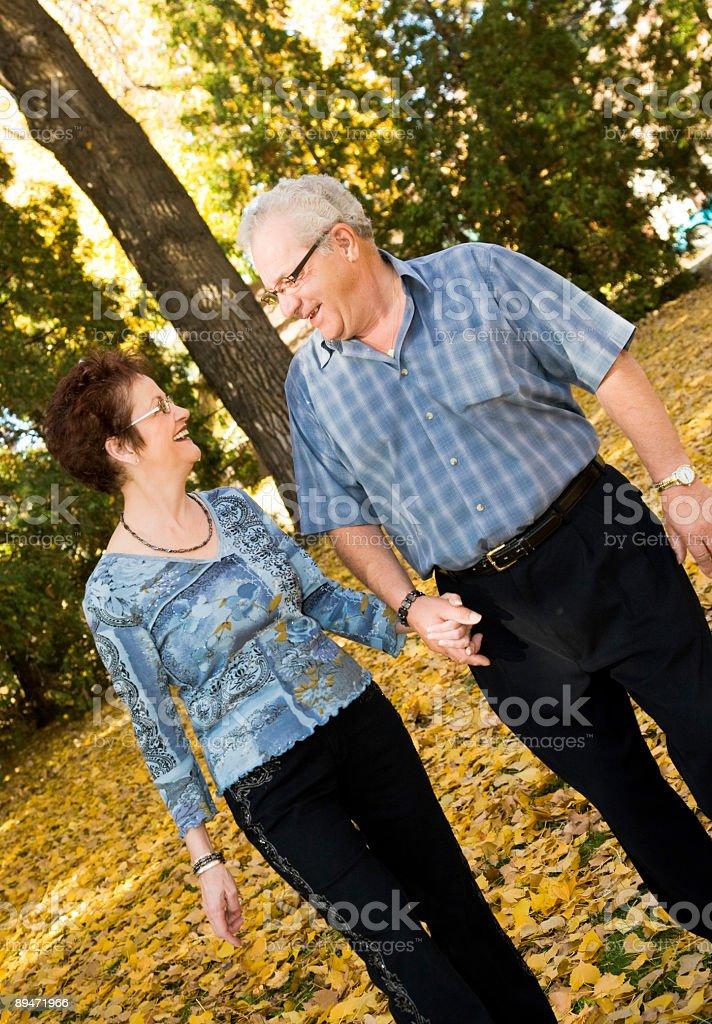 Adultos maduros a foto de stock libre de derechos