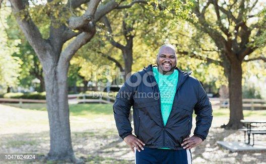 istock Mature African-American man 1047624924