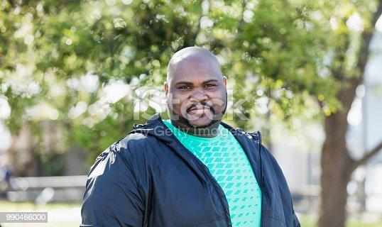 istock Mature African-American man 990466000
