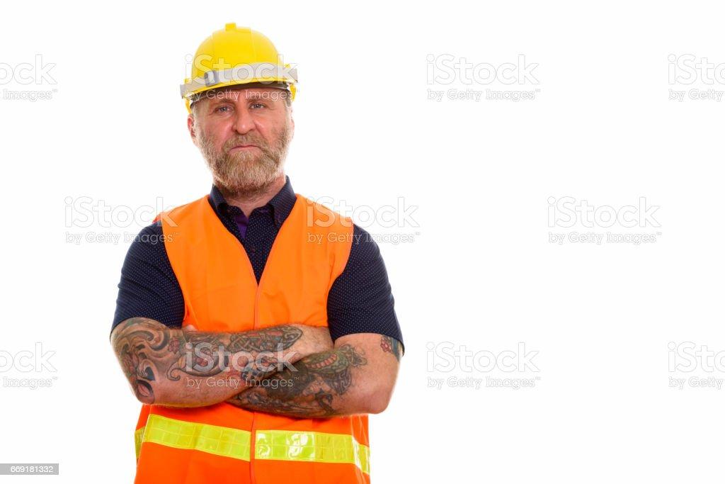 Reifer Bauarbeiter