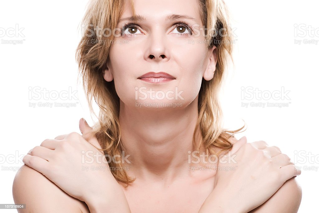 Mature beauty royalty-free stock photo