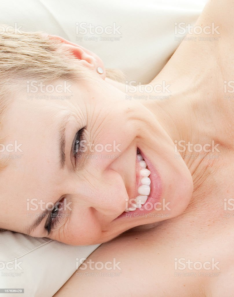 Mature beauty woman royalty-free stock photo