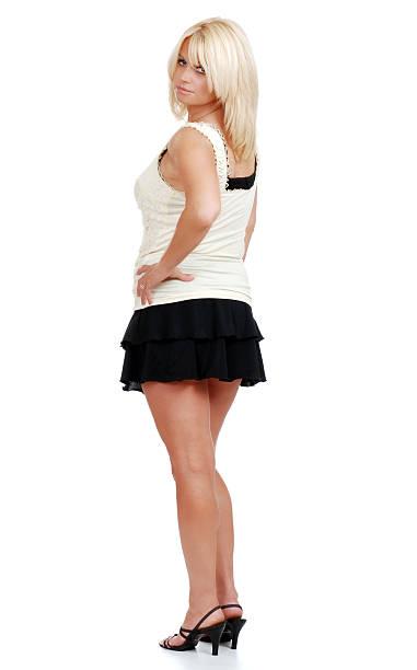 Mature Miniskirt