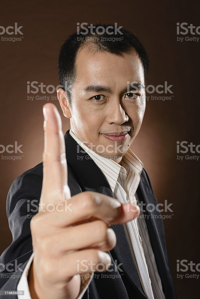 mature business man royalty-free stock photo