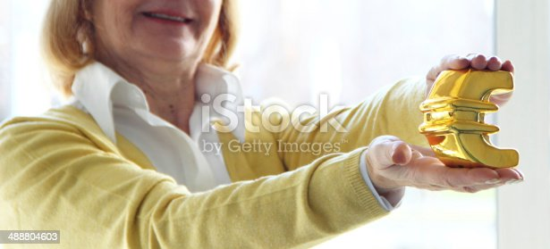 istock Mature business woman 488804603