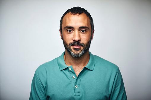 Foto de Mature Businessman Over White Background e mais fotos de stock de 35-39 Anos