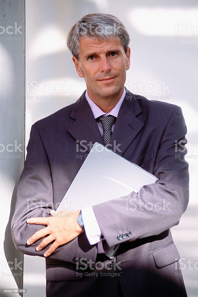 Mature businessman 免版稅 stock photo