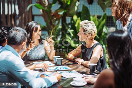 istock Mature businesswoman is finding solutions to overcome the existing problems in company 942314388
