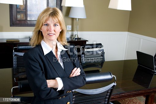 981750034 istock photo Mature Businesswoman Portrait 172705606