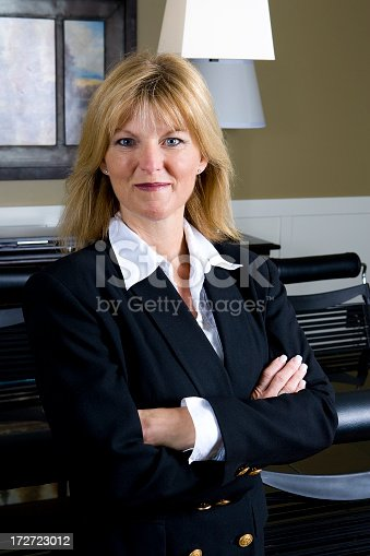 981750034 istock photo Mature Businesswoman Portrait 172723012