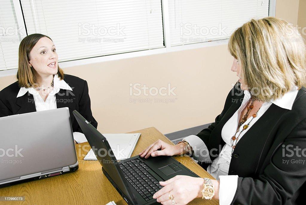 Mature Businesswomen royalty-free stock photo