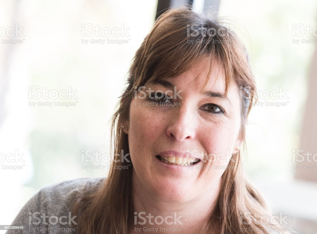 a22c2504440f Mature Caucasian Woman Stock Photo & More Pictures of 40-44 Years ...