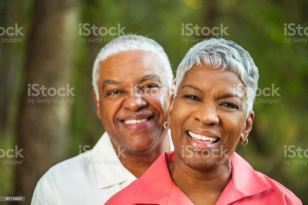 Mature Copule stock photo