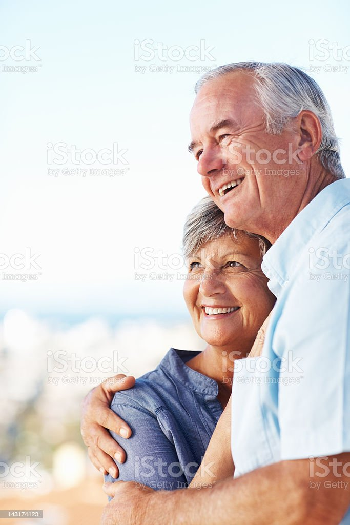 Älteres Paar, die Zeit im Freien – Foto