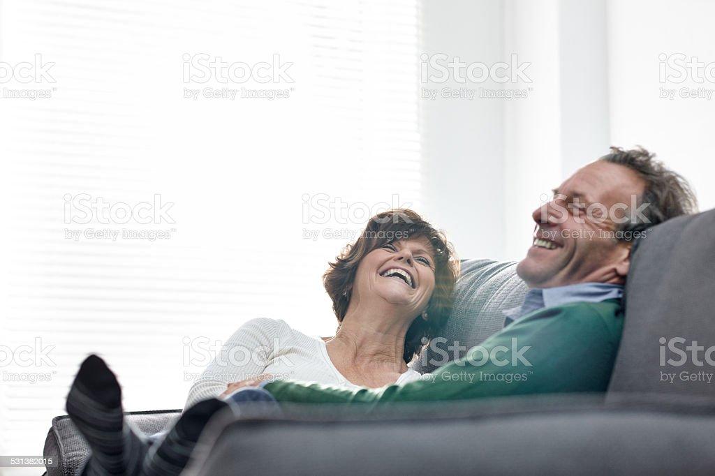 Älteres Paar, die Zeit zu Hause – Foto