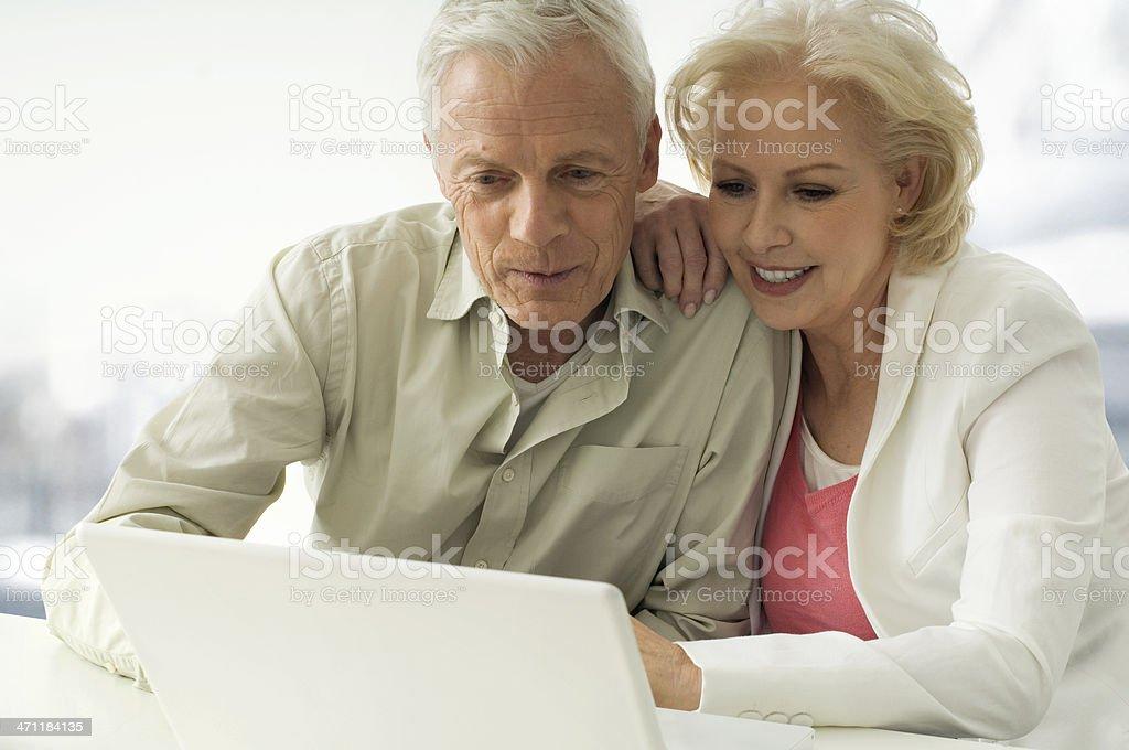 Mature Couple royalty-free stock photo