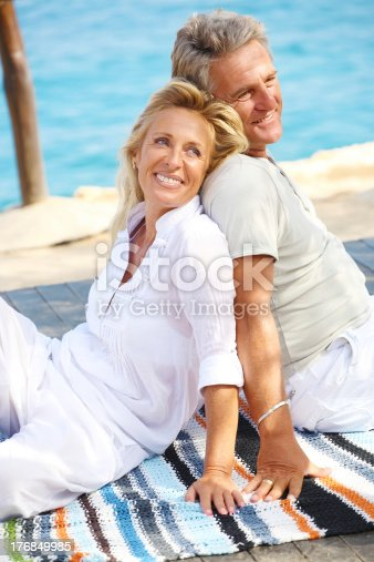 119998253 istock photo Mature couple relaxing 176849985