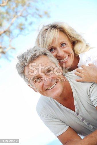 119998253istockphoto Mature couple smiling 119953738