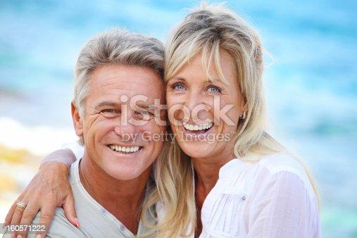 119998253 istock photo Mature couple smiling 160571222