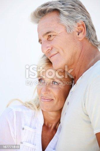 119998253istockphoto Mature couple smiling 167771815