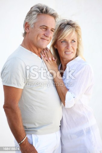119998253istockphoto Mature couple smiling 168418574