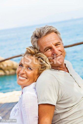 119998253istockphoto Mature couple smiling 177687144