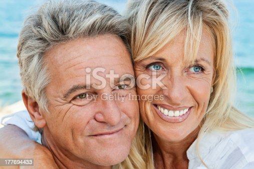 119998253istockphoto Mature couple smiling 177694433