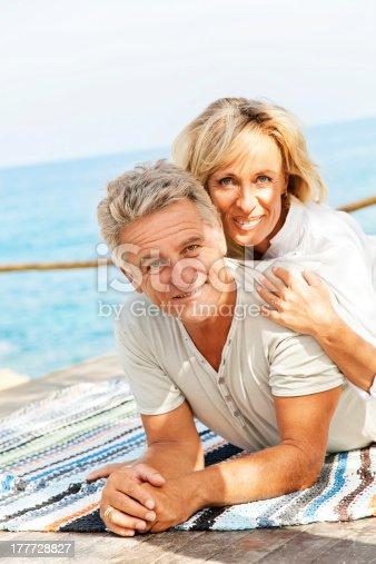 119998253istockphoto Mature couple smiling 177728827
