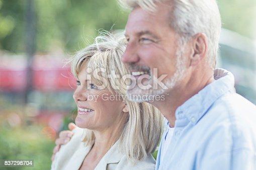 119998253istockphoto Mature couple smiling 837298704