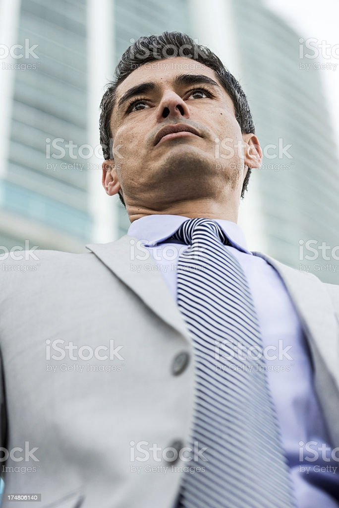Mature Executive royalty-free stock photo