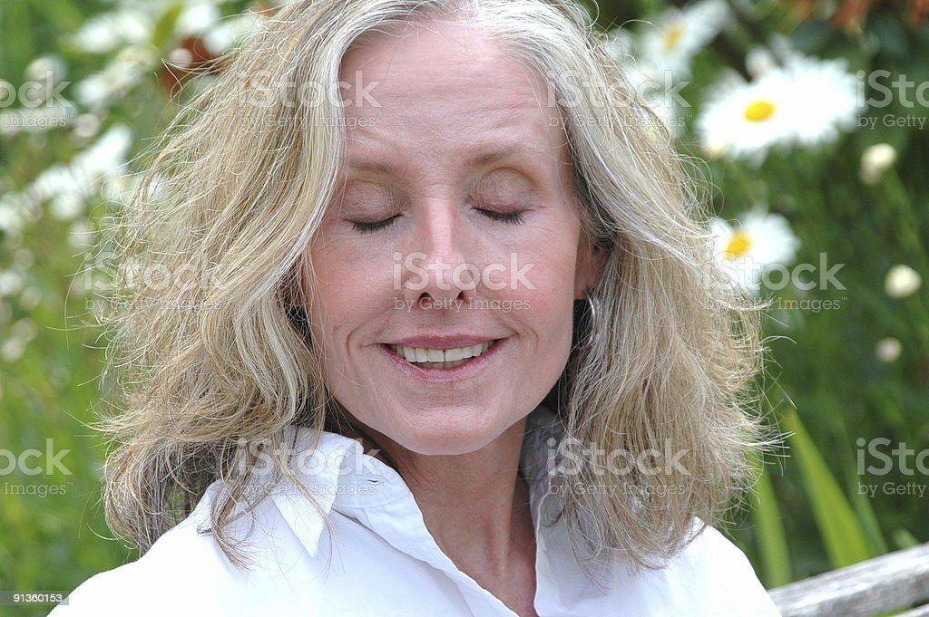 Mature Female Beauty royalty-free stock photo