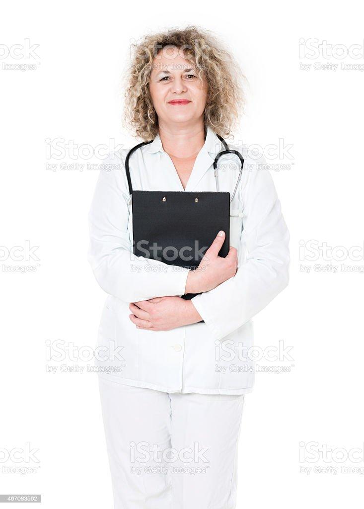 Mature ladies in uniform