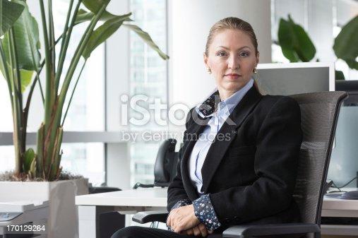 istock Mature female executive 170129264