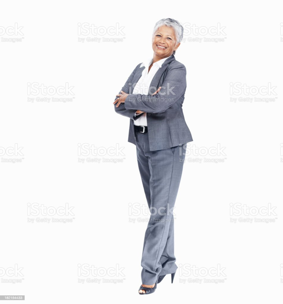 Mature female executive stock photo