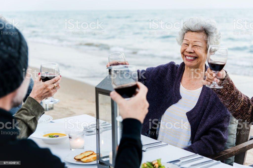 Mature beach party pics