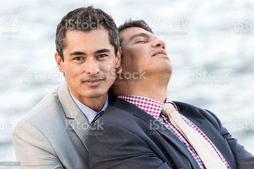 c5e104ddeb Gay Hombres Maduros Foto de stock y más banco de imágenes de 40-44 ...